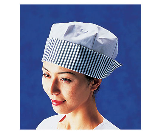 婦人帽子 紺ストライプ SK73-1