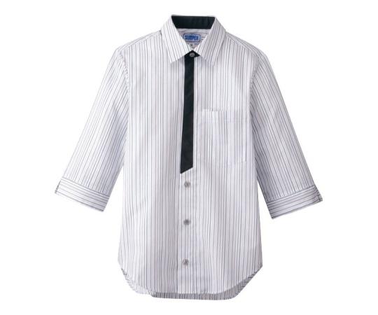 男女兼用七分袖シャツ 3L グレー BT-3122