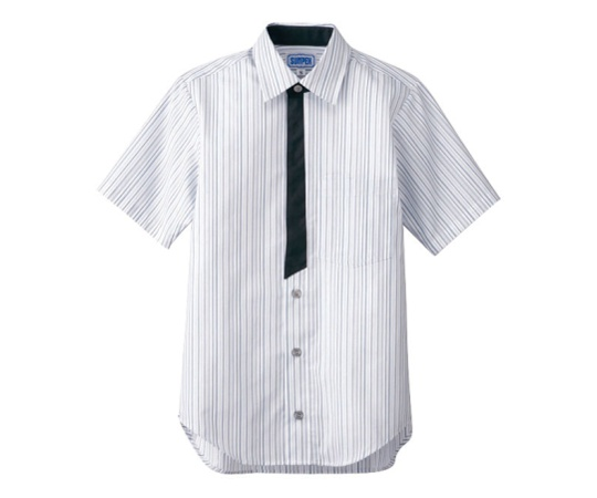 男女兼用半袖シャツ LL グレー BT-3124