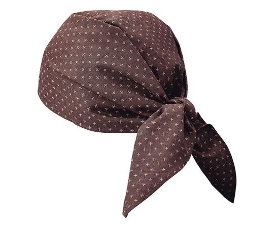 バンダナ帽 (ブラウン) JA-6817