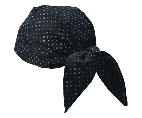 バンダナ帽 JA-6818(ブラック) SBV0603