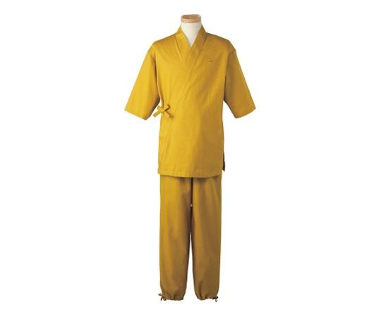 男女兼用 作務衣パンツ L (カラシ) H-2096