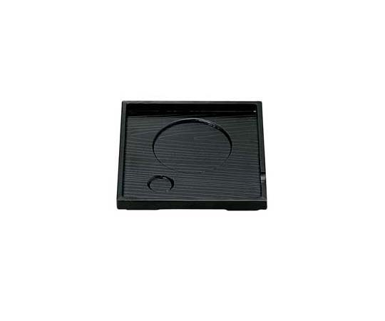 角茶碗蒸し台 黒 (ABS) 75000630