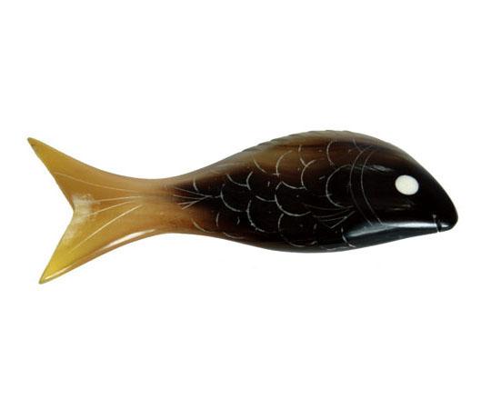 [取扱停止]水牛角 箸置き・魚(たい) BH-30 OSI2201
