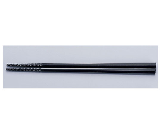 トルネード箸 24cm 黒 GM-4054