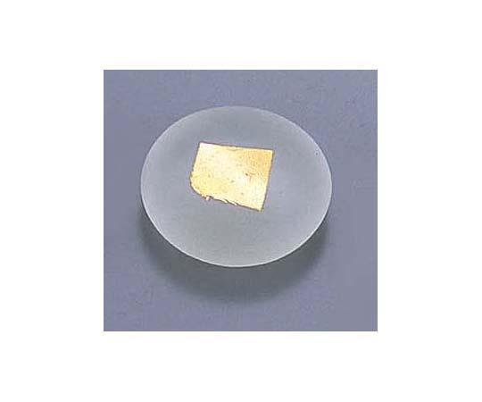 ガラス丸金箔箸置 T28-02