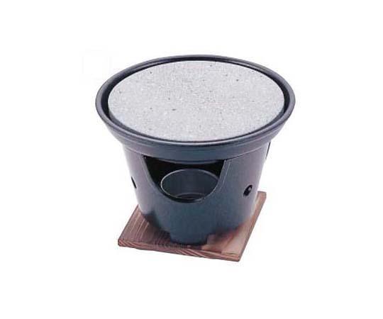 丸石焼皿(ホルダー付) ST-493