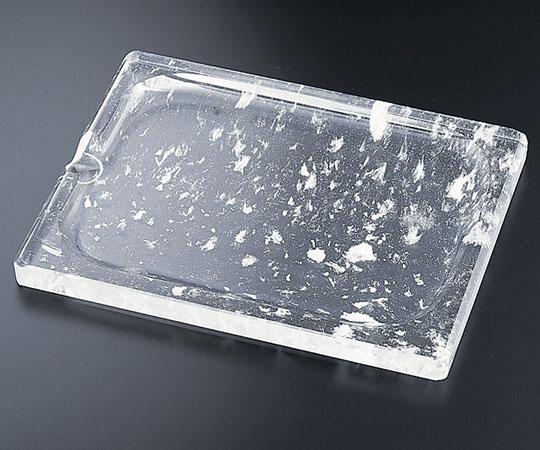 水晶 長方形 角型焼肉プレート TY-E-009