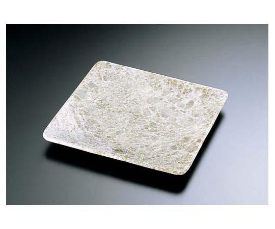 石器 正角皿 YSSJ-014 22cm RIS1502