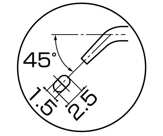 ベンドニードルノーズプライヤー SM-04
