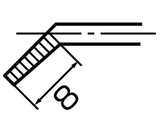 先曲りリードペンチ SP-25