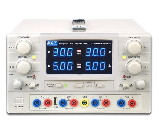 [受注停止]多出力直流安定化電源 M10-QP303