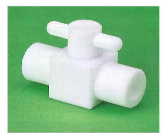 USL-PTFE 洗浄2方ボールバルブB型