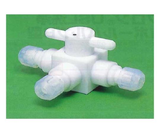 USL-PTFE 洗浄3方ボールバルブC型