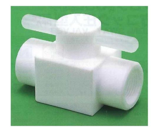 USL-PTFE 洗浄メス2方コック圧入型