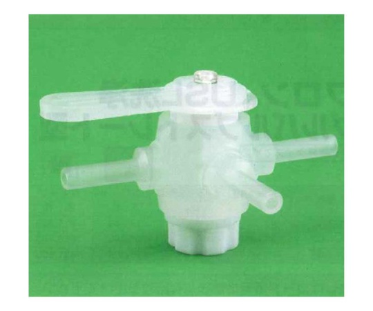 USL-PFA 洗浄3方コック (チューブ圧入用)