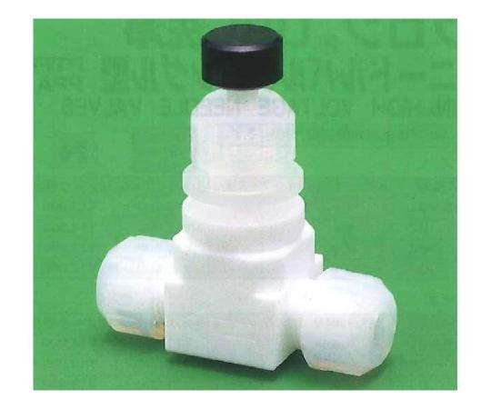 USL-PTFE 洗浄ニードルバルブ ストレート型