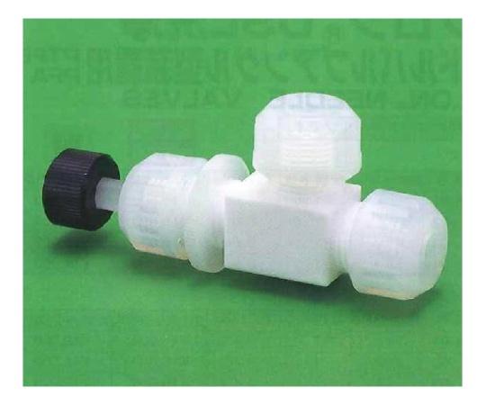 USL-PTFE 洗浄ニードルバルブ アングル型 00Uシリーズ