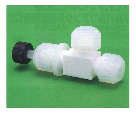 USL-PTFE 洗浄ニードルバルブ アングル型