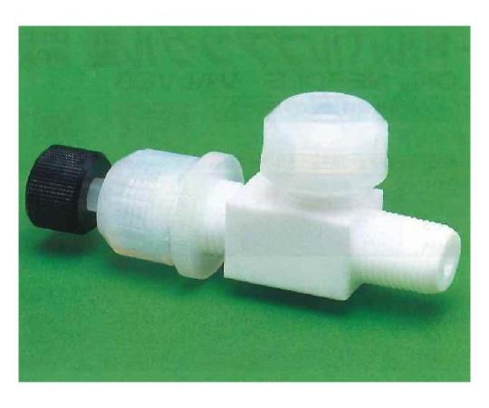 USL-PTFE 洗浄ニードルバルブ アングル型装置用 00Uシリーズ