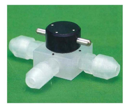 ネオフロンRUSL 洗浄CTFE3方バルブ 00U-200シリーズ