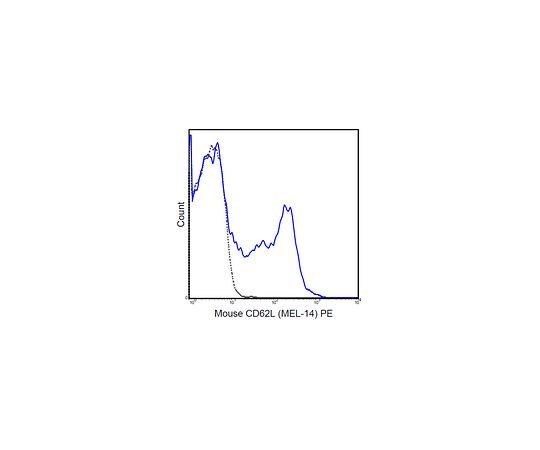 Anti-CD62L (L-Selectin) (mouse), PE, clone MEL-14 MABF451