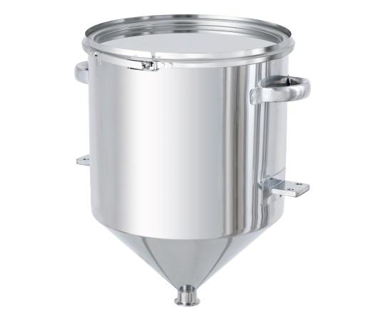 ホッパー型密閉容器(バンド式) ブラケット付 HT-CTL-BRKシリーズ