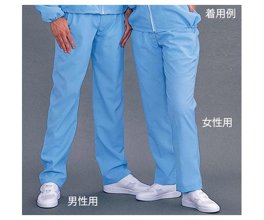 クリーンゾーンパンツ(男性用) ブルー PG6501/Bシリーズ