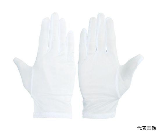 無蛍光ポリエステル手袋 M (12双入) 3611-M