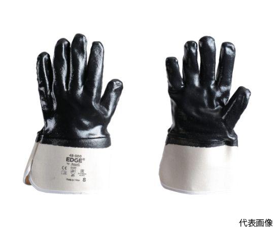 ニトリルコーティング手袋 エッジ 48-500 Lサイズ 48-500-9