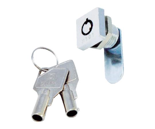 シリンダー錠 ミニスクウェアロック 1箇所抜け CLCA020