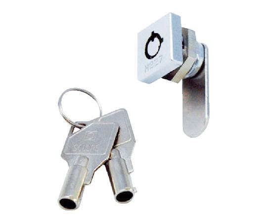 シリンダー錠 ミニスクウェアロック 2箇所抜け CLCA021