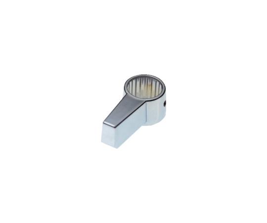 シリンダー錠 ノブロック用ノブ クローム CLCA055