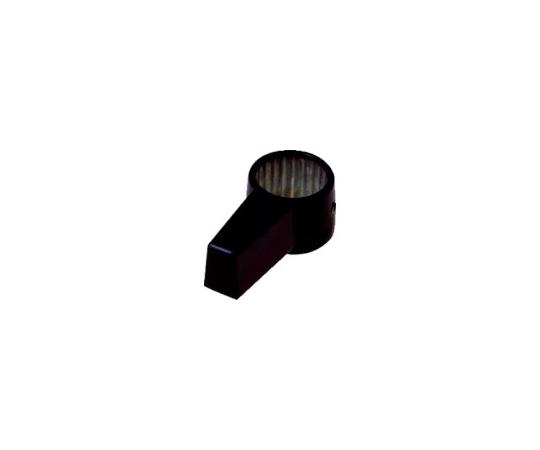 シリンダー錠 ノブロック用ノブ ブラック CLCA057