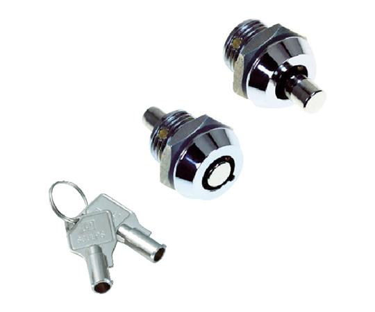 シリンダー錠 プッシュロックミニ Φ15―20 CLCA160