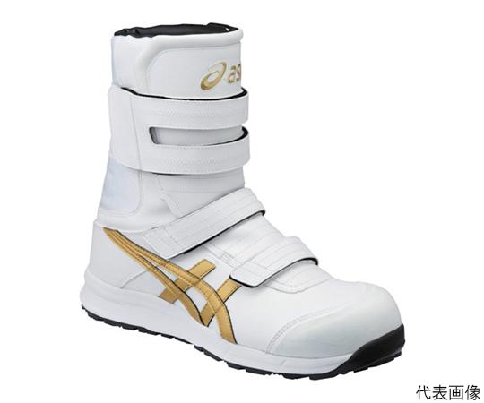 ウィンジョブ CP401 ホワイト×ゴールド 25.0cm FCP401.019425.0