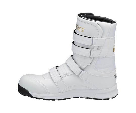 ウィンジョブ CP401 ホワイト×ゴールド 28.0cm FCP401.019428.0
