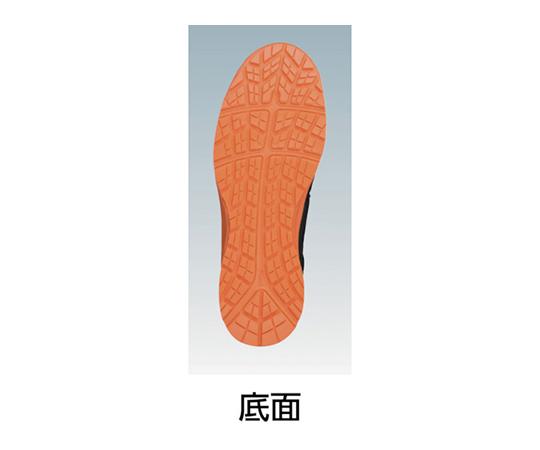 ウィンジョブ CP601 ブラック×シルバー 26.0cm FCP601.909326.0