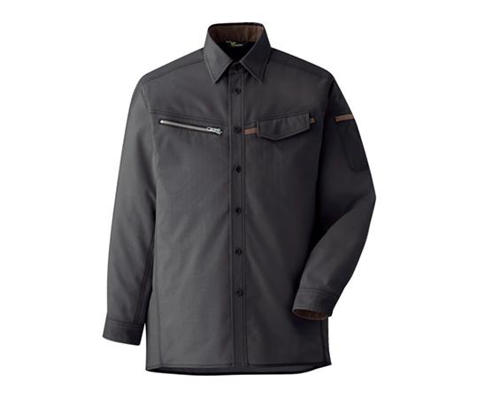 ベルデクセル 男女ペア 交織ストレッチシャツ VES2539上 M