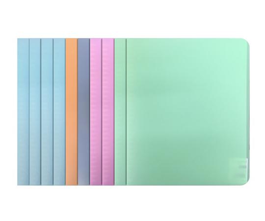 Zファイル B5 パステル 5色 10冊入 A1024