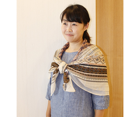 Insect Repellent Square Scarf ISQ-7159