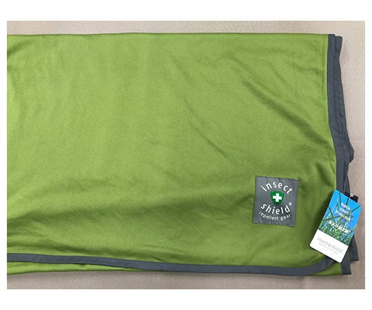 [Discontinued]Insect Repellent Blanket Green L blanketL