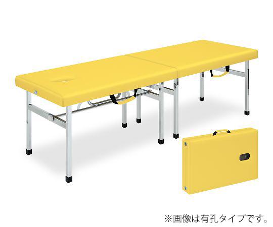 有孔オリコベッド 幅40×長さ190×高さ60cm イエロー TB-960U