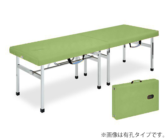 有孔オリコベッド 幅40×長さ190×高さ60cm ライムグリーン TB-960U