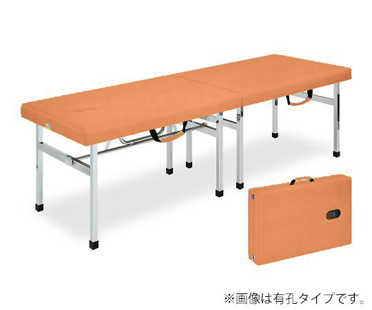 有孔オリコベッド 幅45×長さ180×高さ55cm オレンジ TB-960U