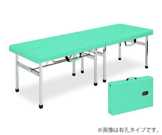 有孔オリコベッド 幅45×長さ190×高さ60cm ライトグリーン TB-960U
