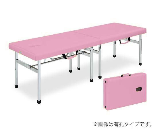 有孔オリコベッド 幅45×長さ190×高さ70cm ピンク TB-960U