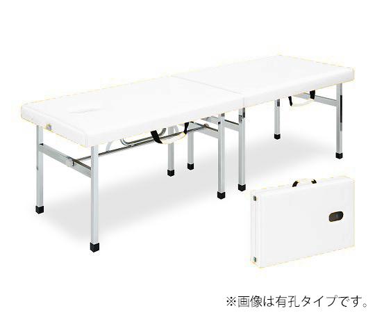有孔オリコベッド 幅50×長さ190×高さ65cm 白 TB-960U