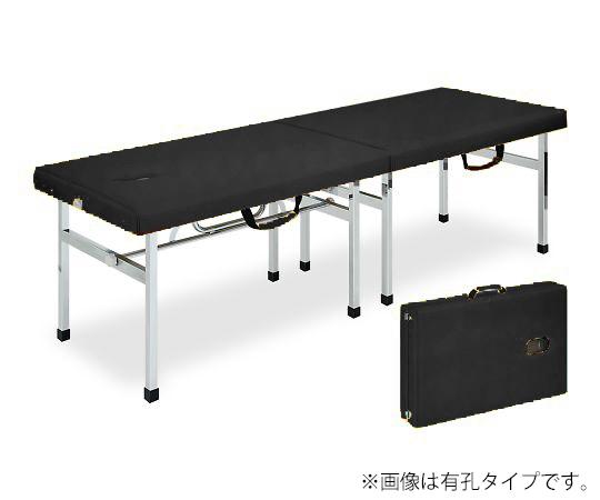 有孔オリコベッド 幅50×長さ190×高さ70cm 黒 TB-960U