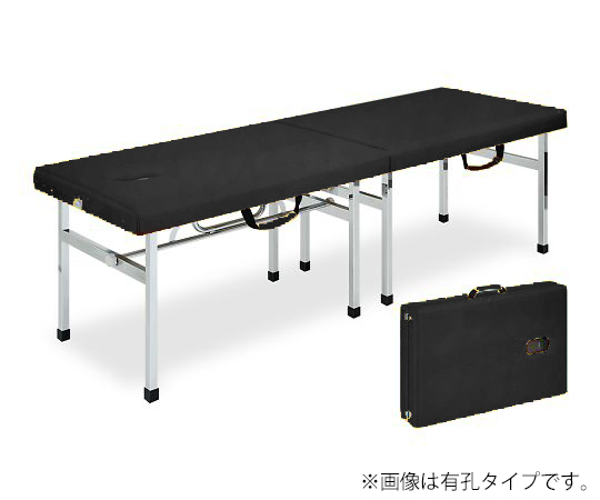 有孔オリコベッド 幅55×長さ180×高さ50cm 黒 TB-960U